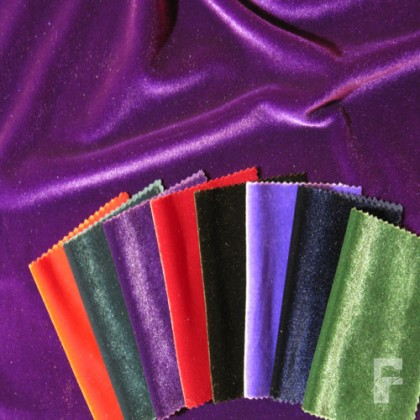 Spandex Velvet - 4 way stretch