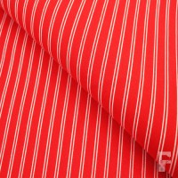 Pinstripe - red