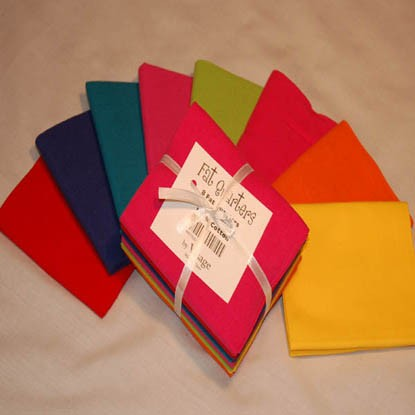 Bright Fat Quarters