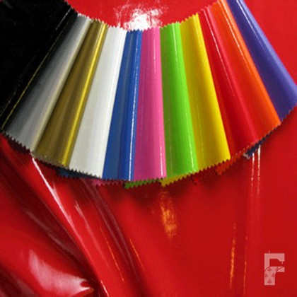 PVC Shiny Stretch Fabric