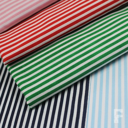 Polycotton Stripes 3 mm