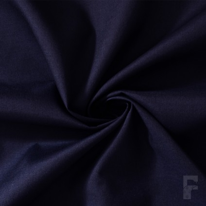 Navy Polycotton Scrubs Fabric